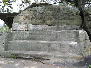 Mrs_Macquarie's_Chair_2013