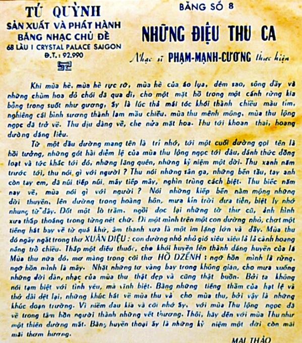 NhungDieuThuCa-LoiGioiThieu-MaiThao