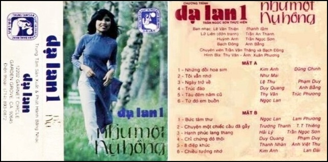 CassetteDaLan1-NhuMotNuHong