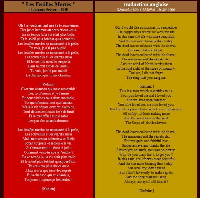 LesFeuillesMortes-lyrics