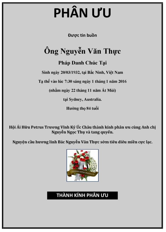 Phan Uu - Nguyen Van Thuc