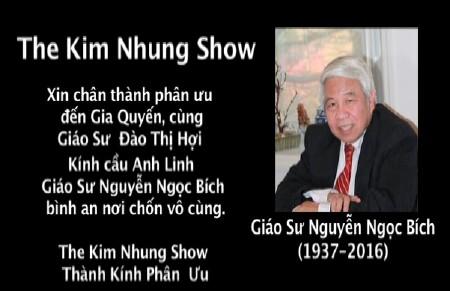 PhanUu-GSNguyenNgocBich-KimNhungShow-2016