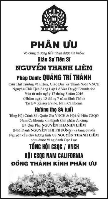 PhanUu-GSTSNguyenThanhLiem-CanhSatQuocGiaVNCH