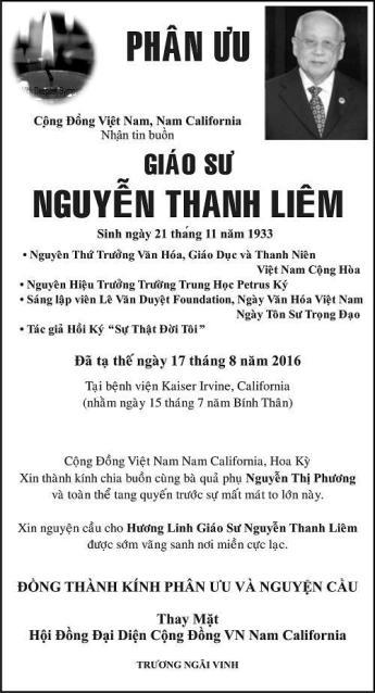 PhanUu-GSTSNguyenThanhLiem-CongDongNamCali