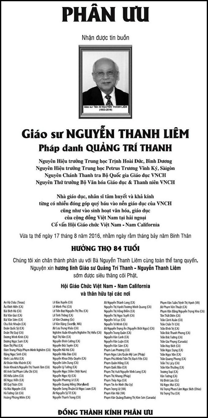 PhanUu-GSTSNguyenThanhLiem-HoiGiaoChucVN-NamCali
