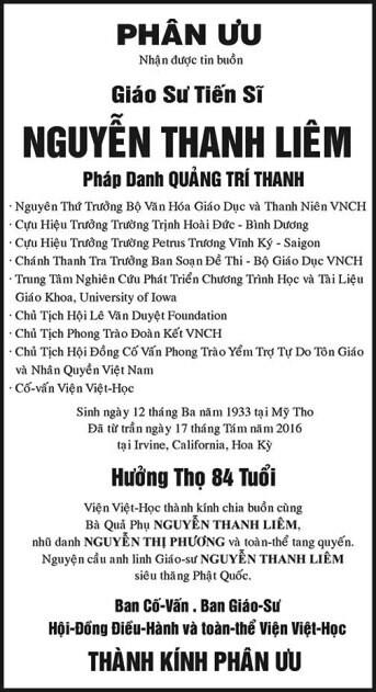 PhanUu-GSTSNguyenThanhLiem-VienVietHoc