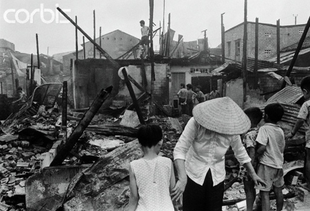 First Rocket Attacks Bombard Saigon