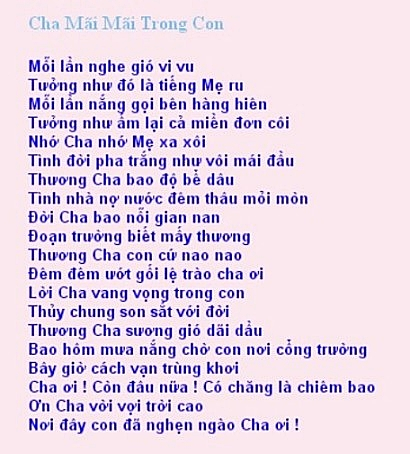 ChaMaiMaiTrongConlyrics
