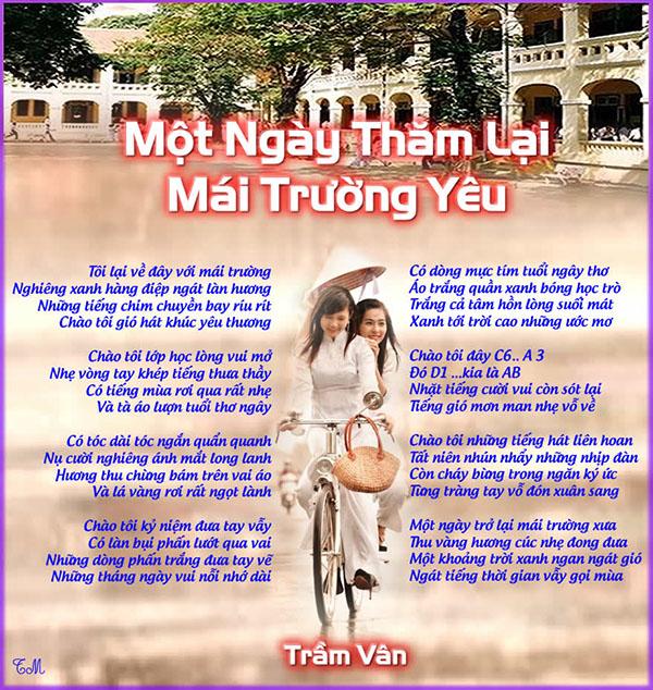 Mot Ngay Tham Lai Mái Truong Yêu