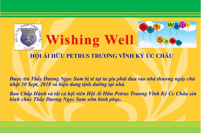 Thay Duong Ngoc Sum wishing well