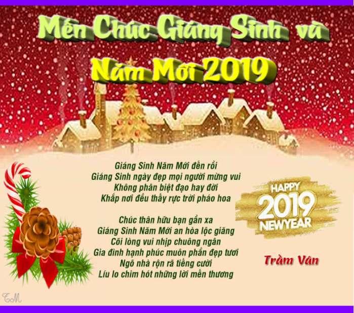 Giang sinh va nam moi 2019