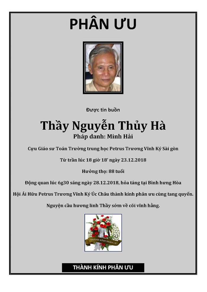 Phan Uu - GS Nguyễn Thuy Ha