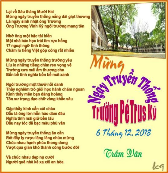 Mung Ngay Truyen Thong Truong Petrus Ky