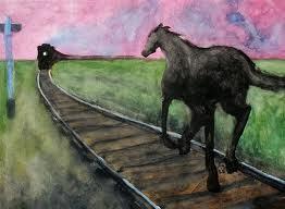 train-horse