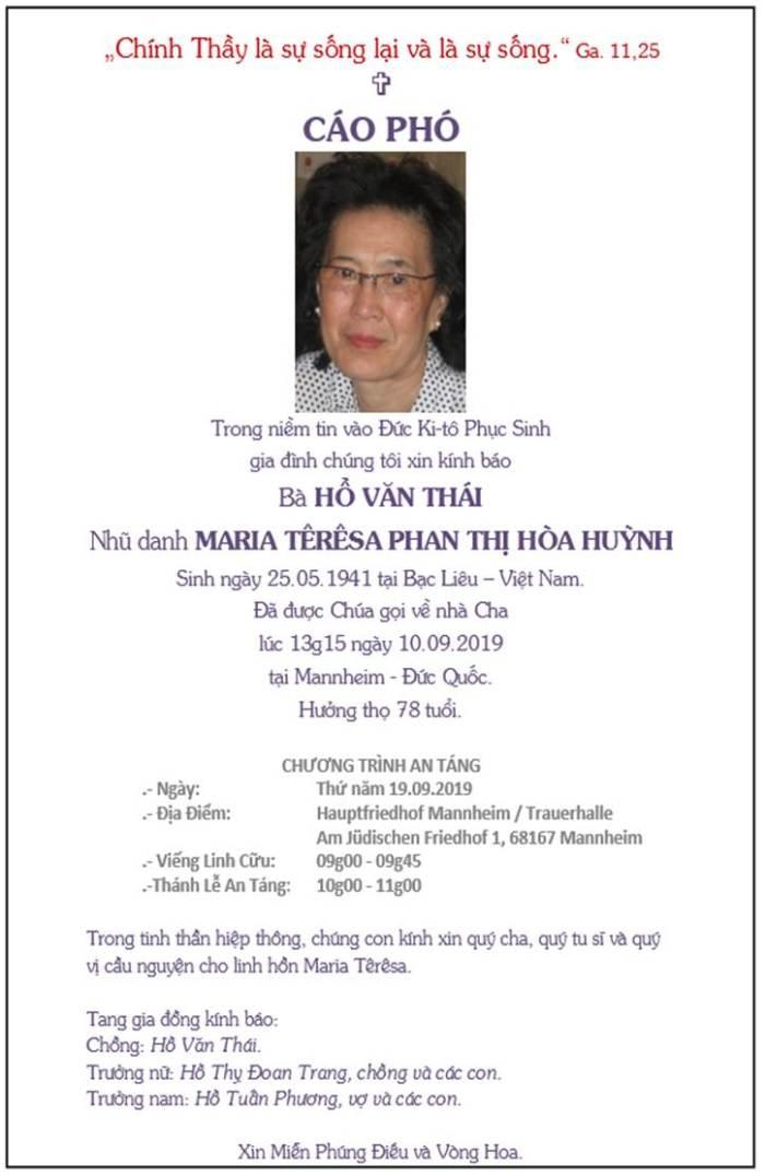 Ba Ho Van Thai_Cao pho