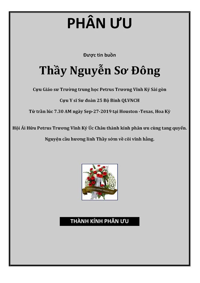 Phan Uu - GS Nguyen So Dong