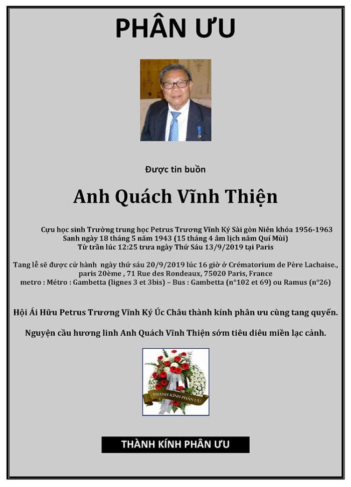 Phan Uu - Quach Vĩnh Thiện - Hoi Petrus Ky