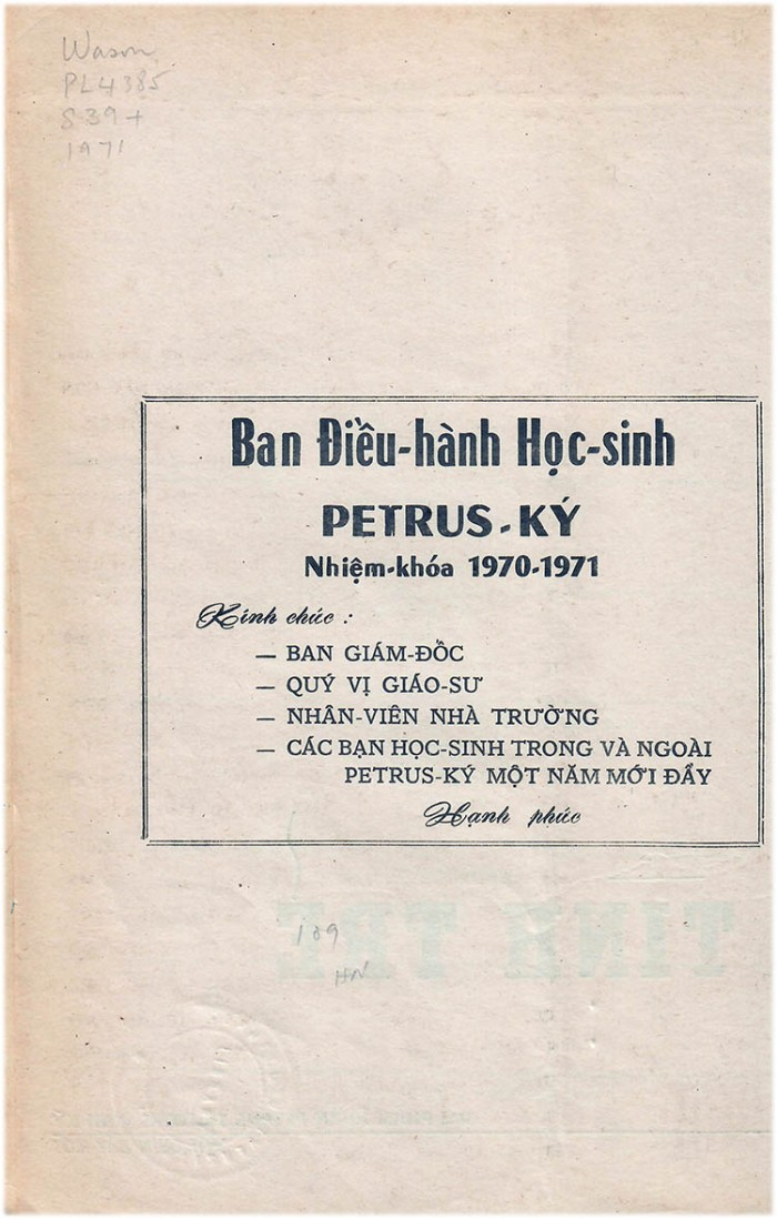 04 PK 71 - Ban dieu hanh hoc sinh chuc tet