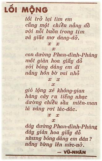 11 PK 64 - loi mong