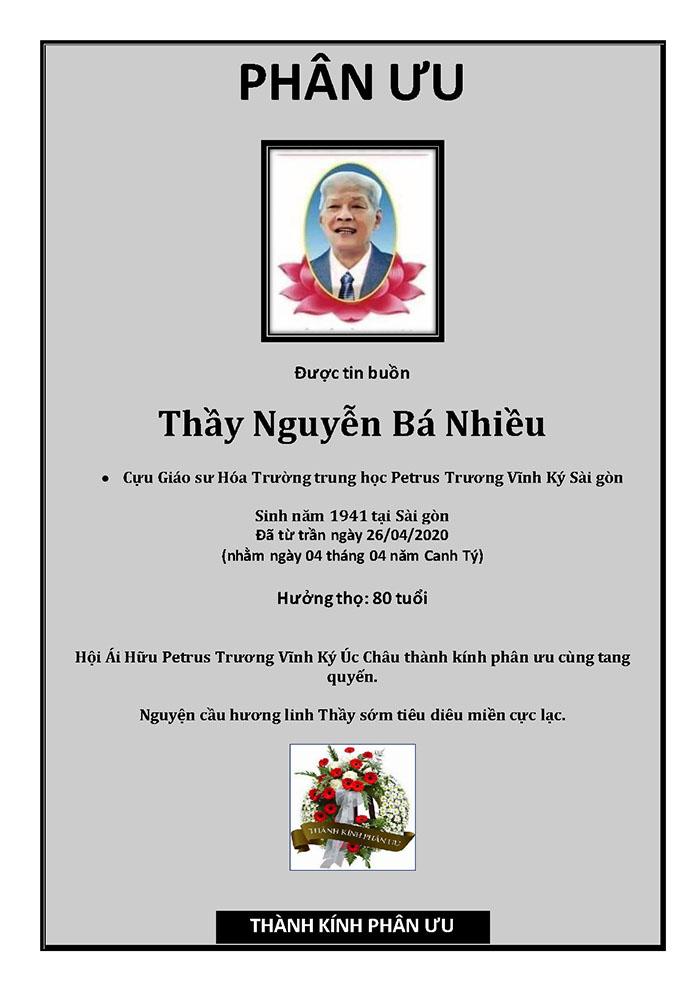 Phan Uu - GS Nguyen Ba Nhieu