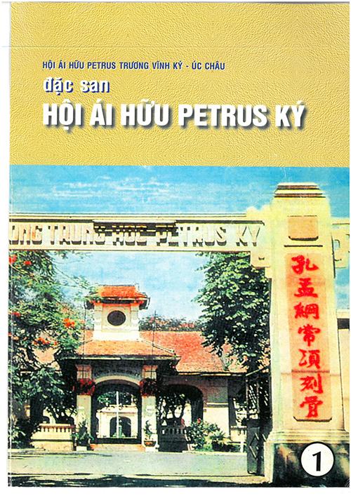 Đặc san 1 - Trang bìa trước