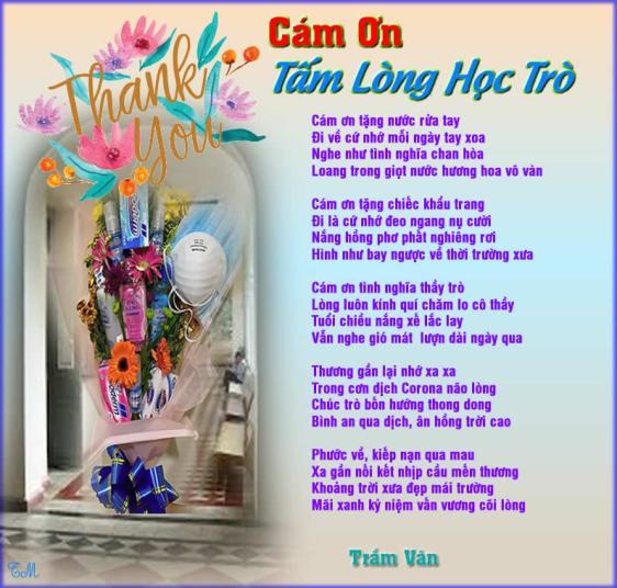 Cam on tam long hoc tro