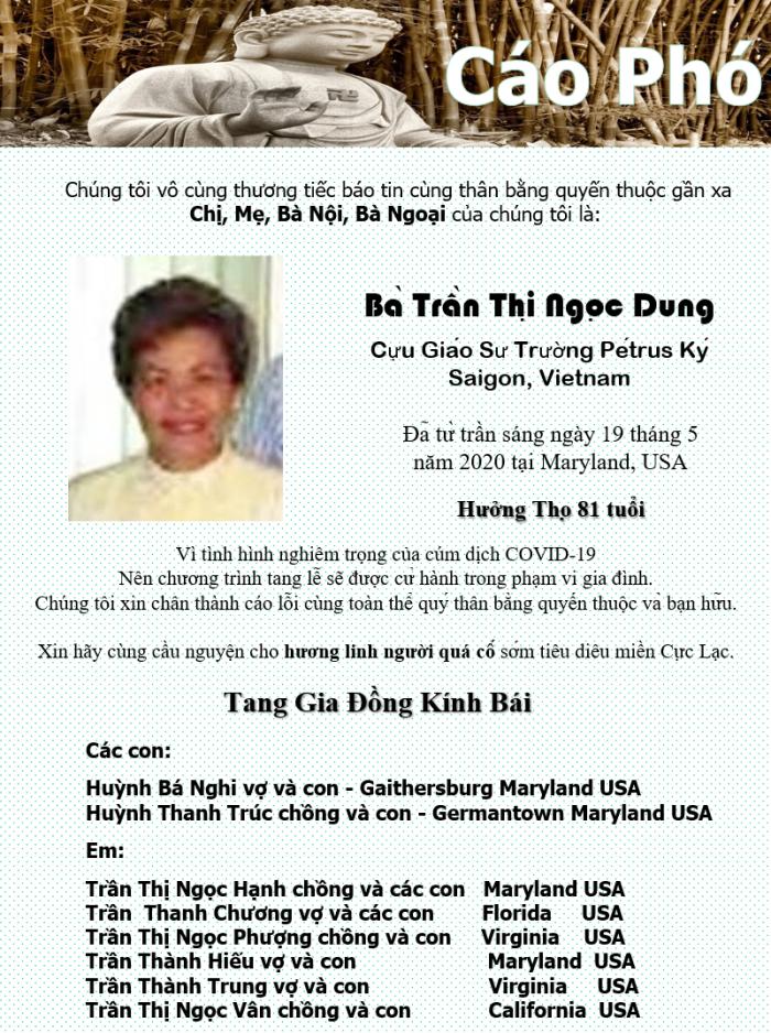 Cao pho - GS Tran Thi Ngoc Dung
