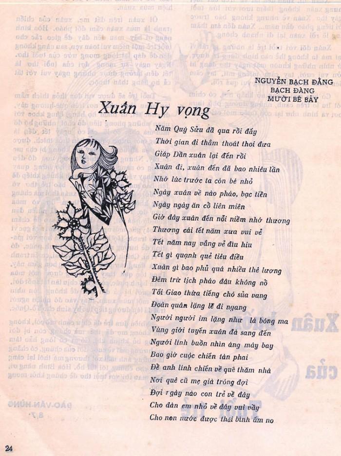 PK 1974 - Xuan Hy Vong