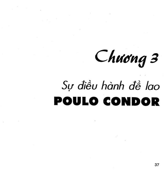 Poulo Condor 37