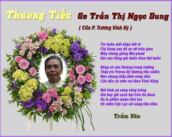 Thuong Tiec Gs Tran Thi Ngoc Dung