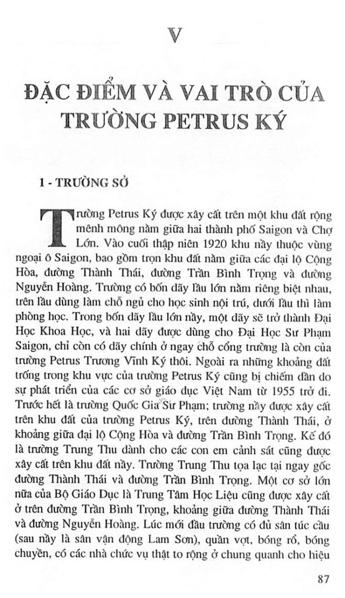 Truong Trung Hoc Petrus Ky 100