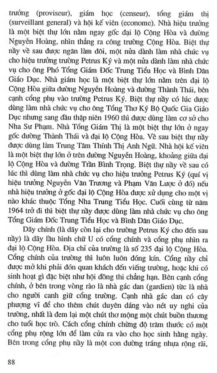 Truong Trung Hoc Petrus Ky 101