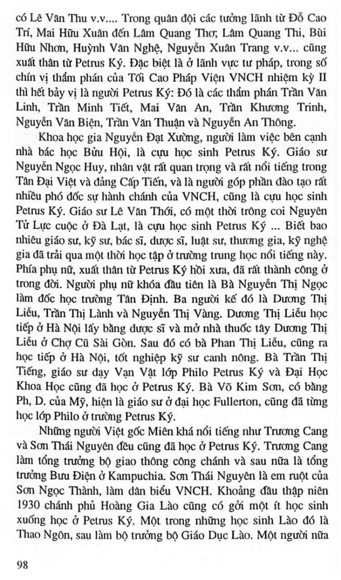 Truong Trung Hoc Petrus Ky 111