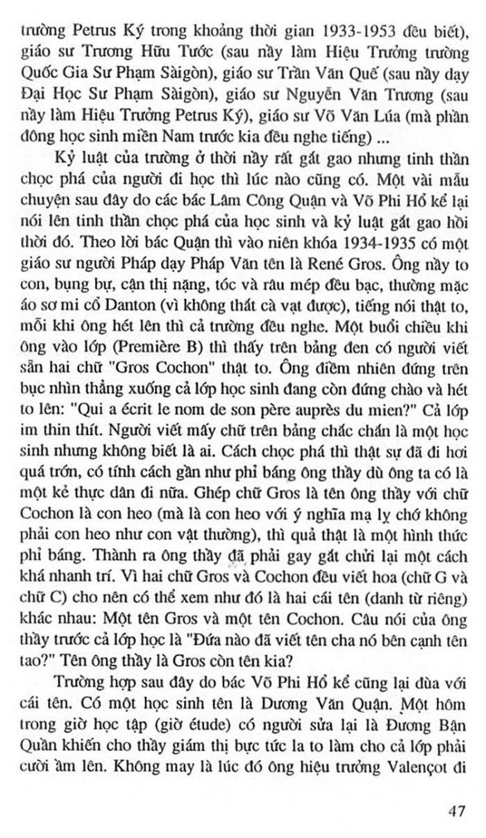 Truong Trung Hoc Petrus Ky 60
