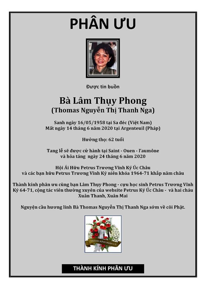 Phan Uu -Ba Nguyen Thi Thanh Nga