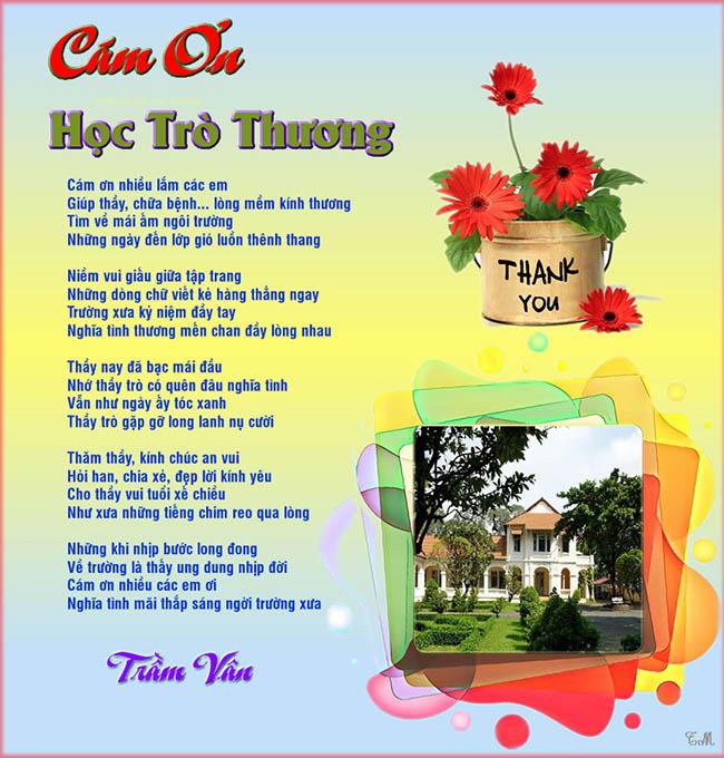 Cam on hoc tro thuong