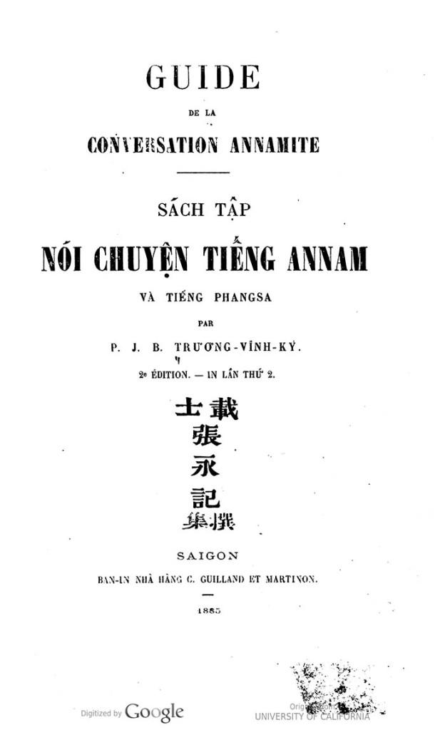 Noi chuyen tieng An Nam - TVK 02