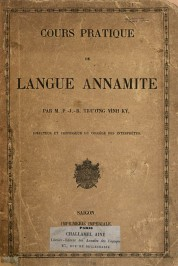 Cours pratique de langue annamite 01