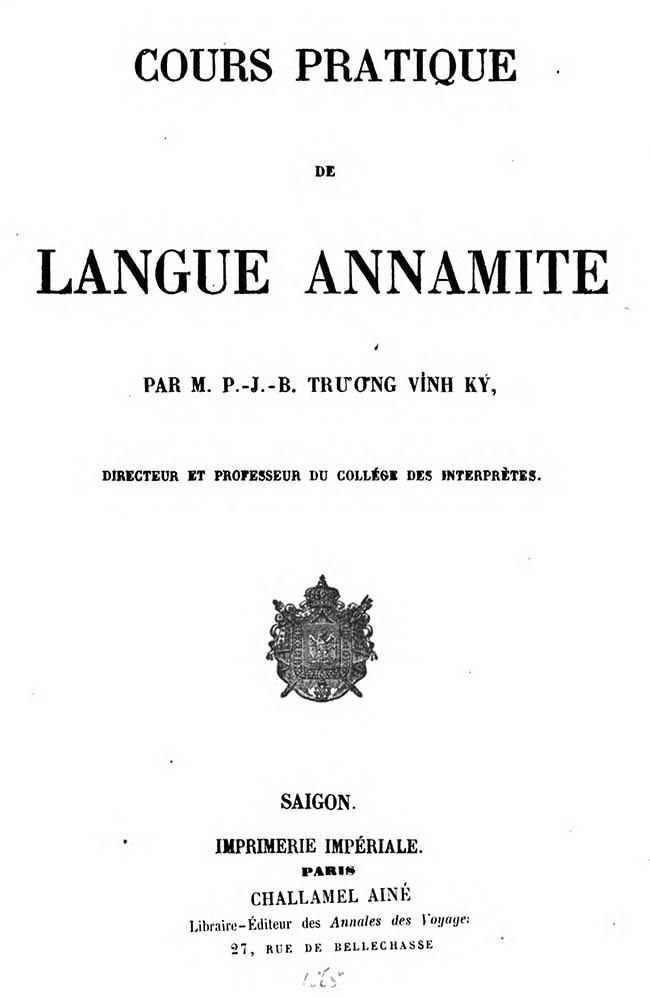 Cours pratique de langue annamite 03