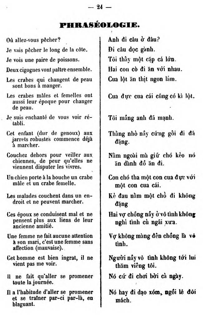 Cours pratique de langue annamite 26