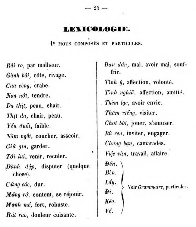 Cours pratique de langue annamite 27
