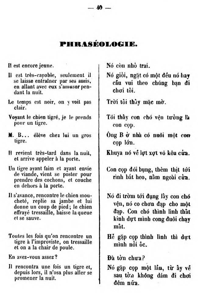 Cours pratique de langue annamite 42