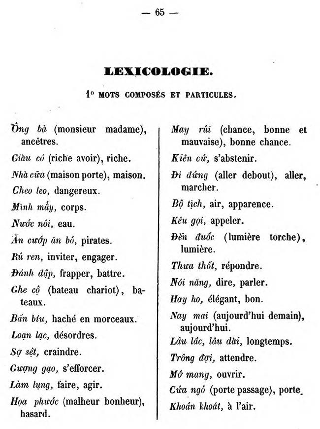 Cours pratique de langue annamite 67