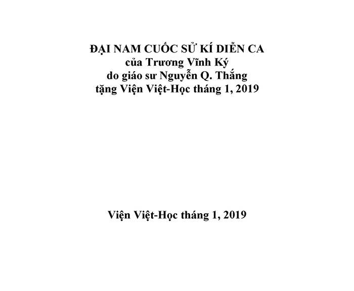Dai Nam cuoc su dien ca 01