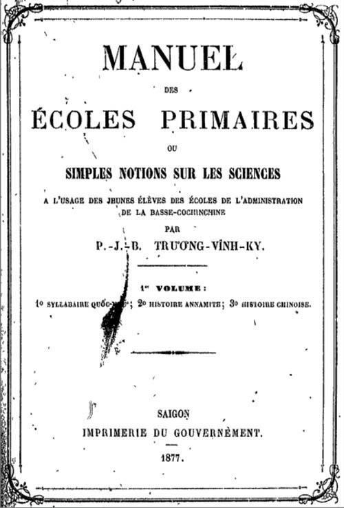 Manuel des ecoles primaires 01