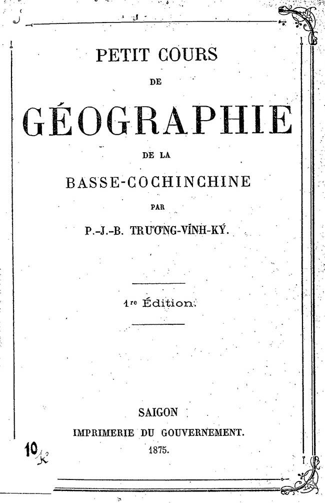 Petit cours de géographie - TVK 01