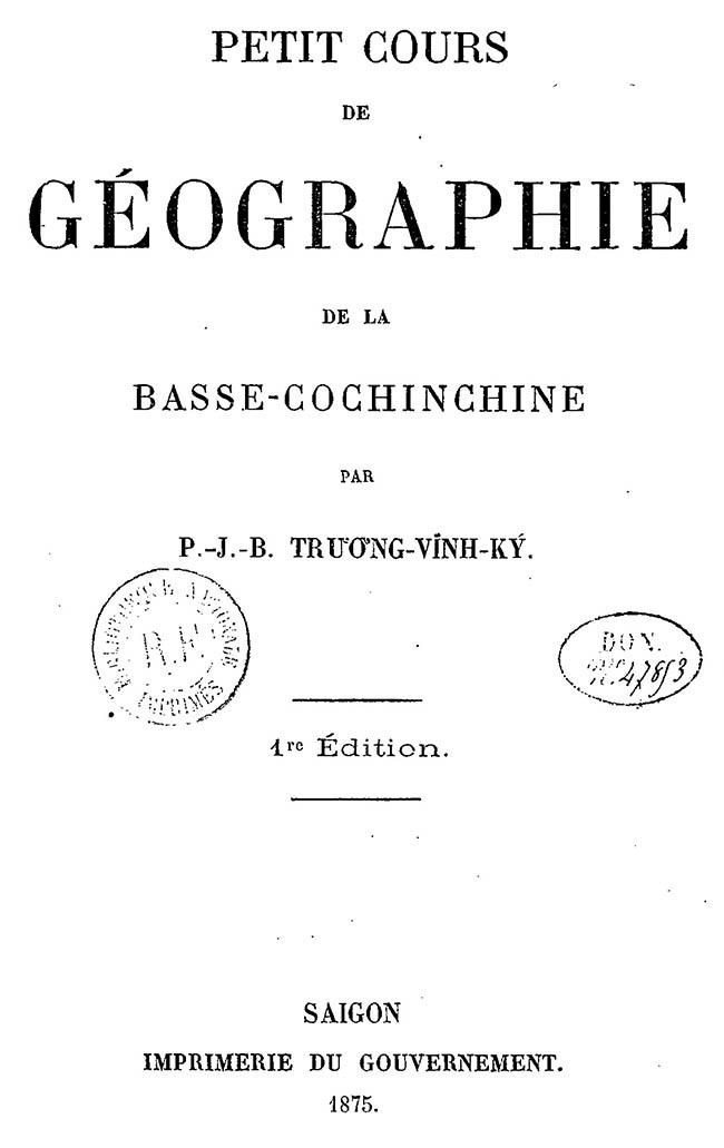 Petit cours de géographie - TVK 04