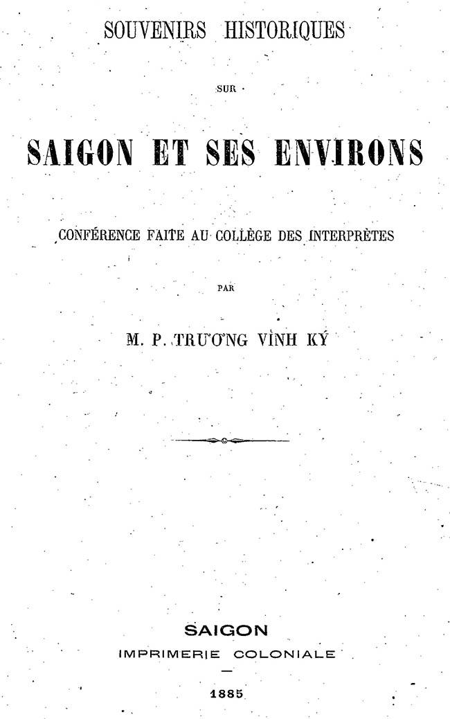 Saigon et ses environs - TVK 01