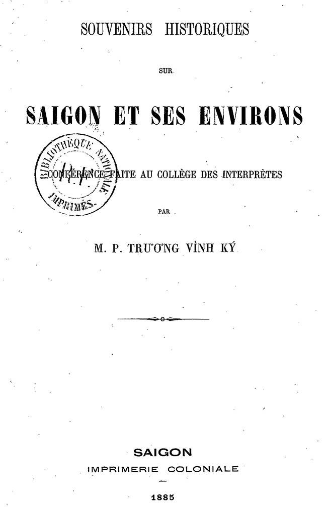 Saigon et ses environs - TVK 02